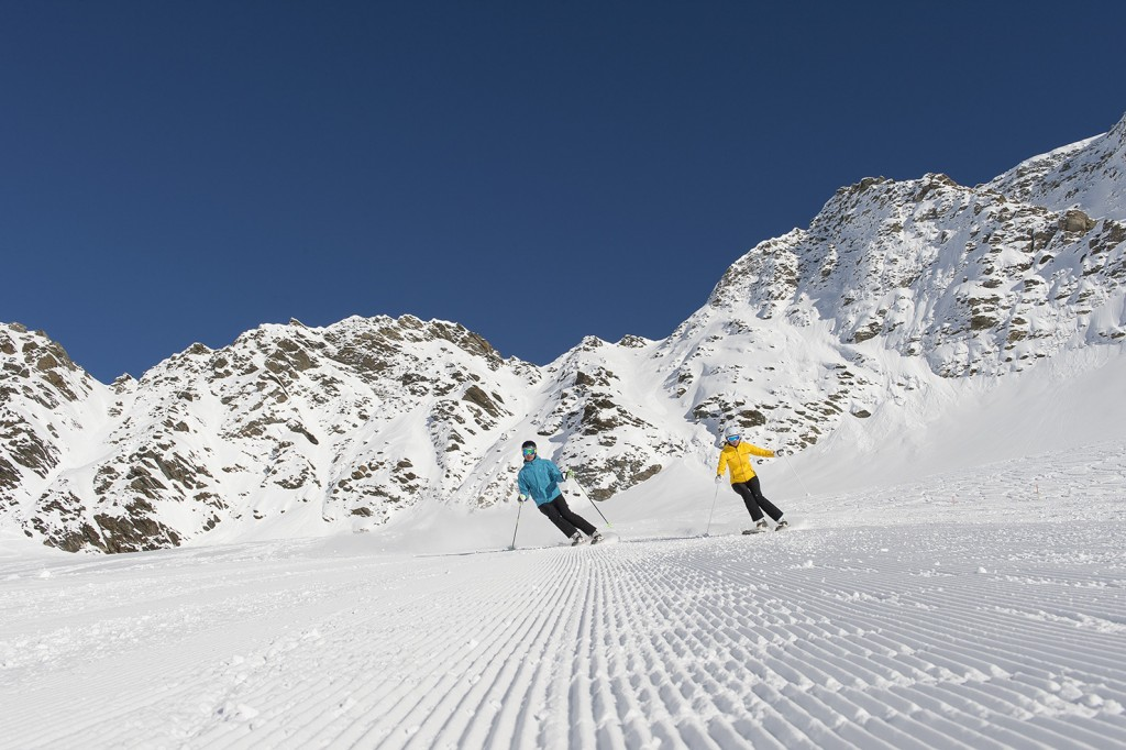 Ski in Sulden am Ortler