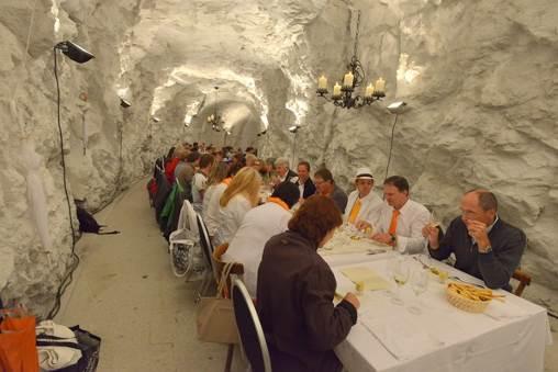 Einmal ganz anders essen gehen im Rahmen des Musikfestival Vinschgau